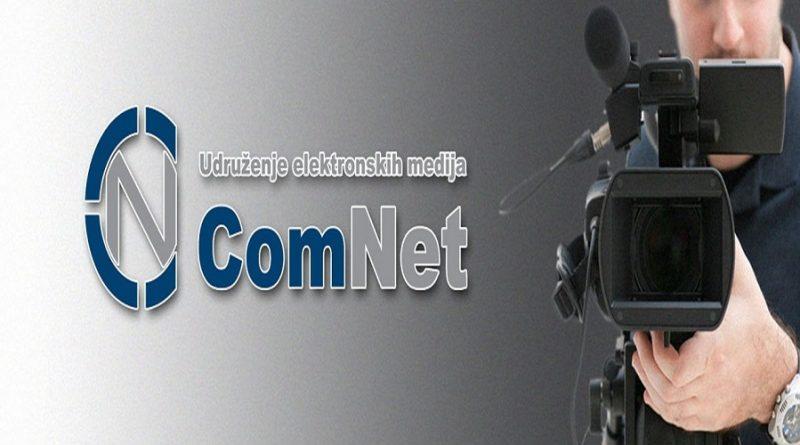 SAOPŠTENJE UDRUŽENJA ELEKTRONSKIH MEDIJA COMNET