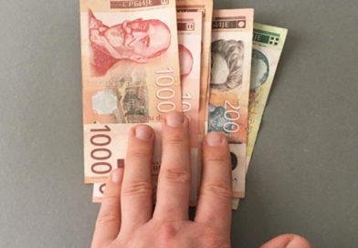 GRAĐANIMA KOJI SE VAKCINIŠU DO KRAJA MAJA JOŠ 3.000 DINARA
